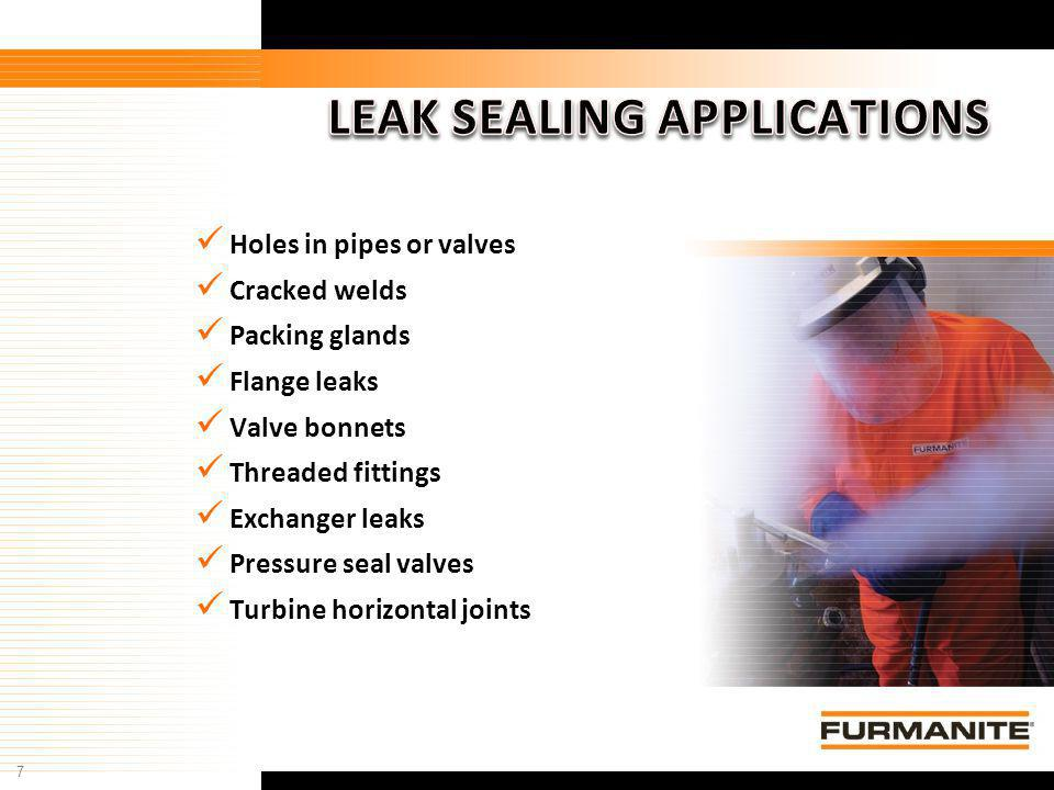 LEAK SEALING APPLICATIONS