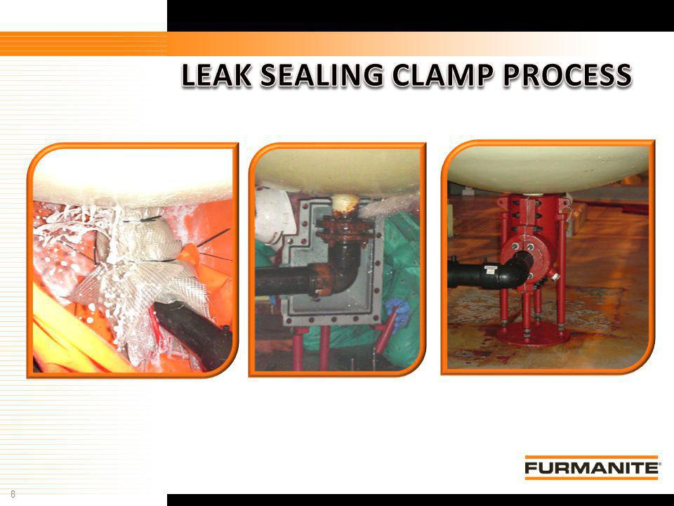 LEAK SEALING CLAMP PROCESS