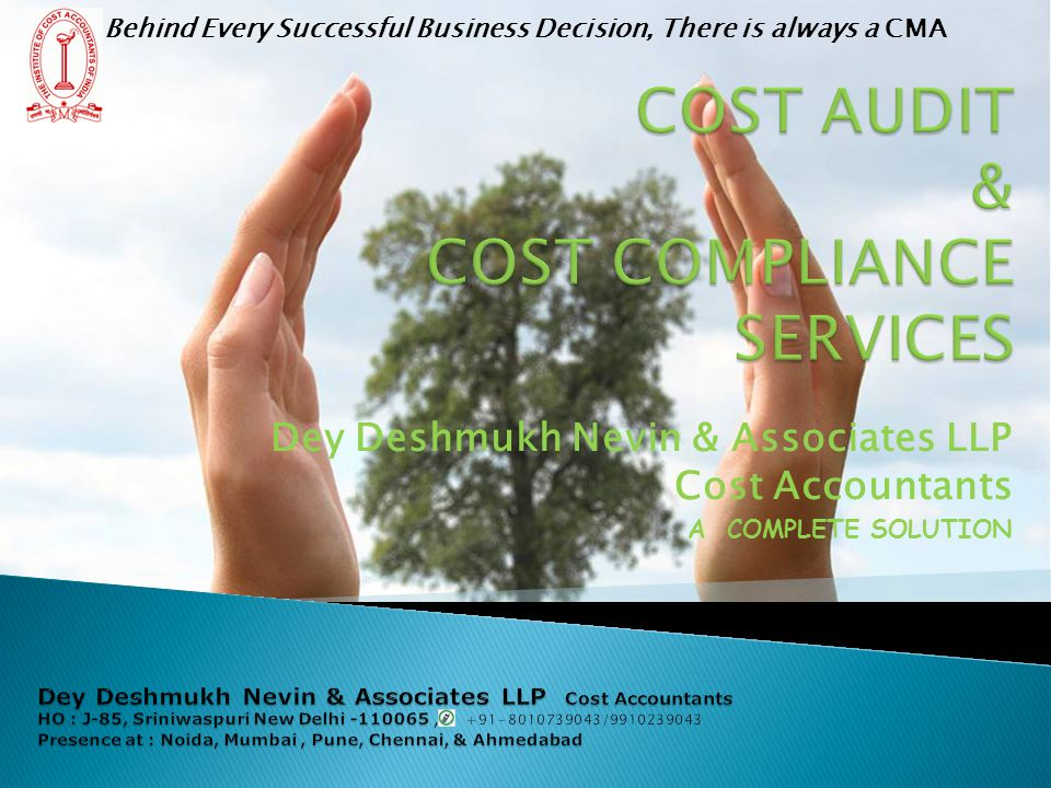 COST AUDIT & COST COMPLIANCE SERVICES