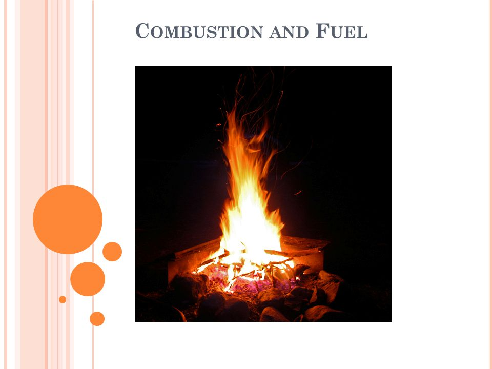 Combustion and Fuel