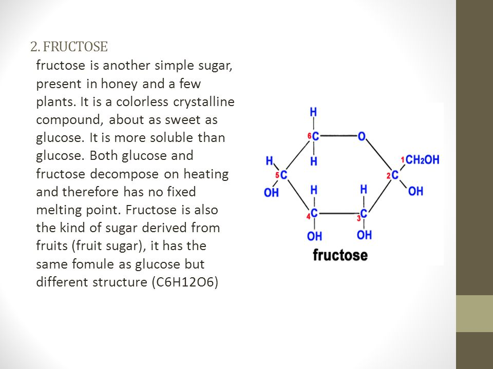 2. FRUCTOSE