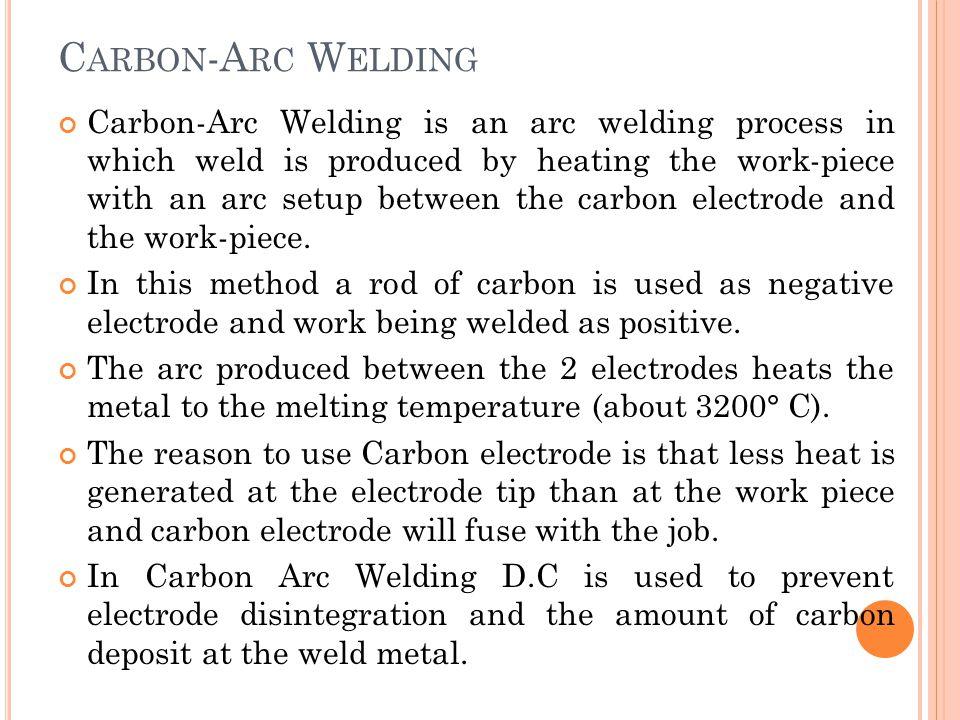 Carbon-Arc Welding