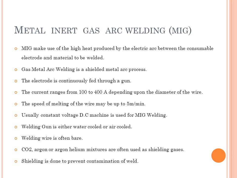 metal inert gas welding pdf