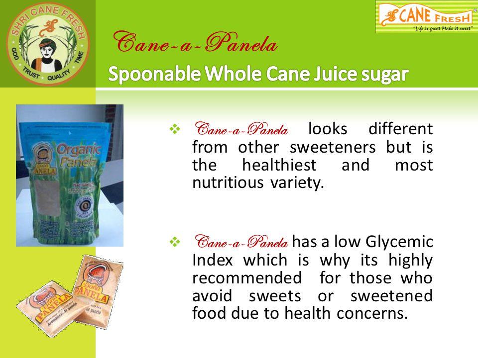 Cane-a-Panela Spoonable Whole Cane Juice sugar
