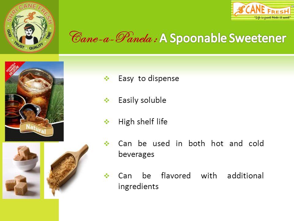 Cane-a-Panela : A Spoonable Sweetener