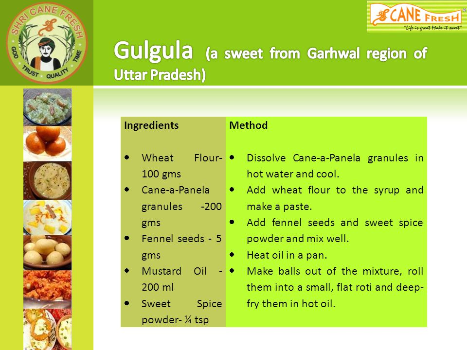 Gulgula (a sweet from Garhwal region of Uttar Pradesh)