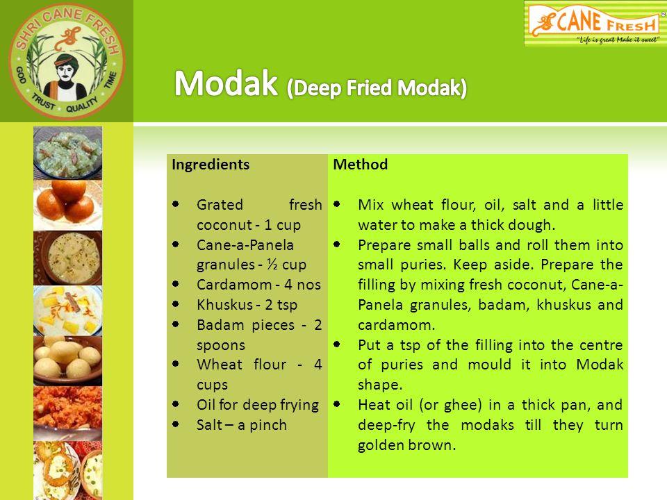 Modak (Deep Fried Modak)