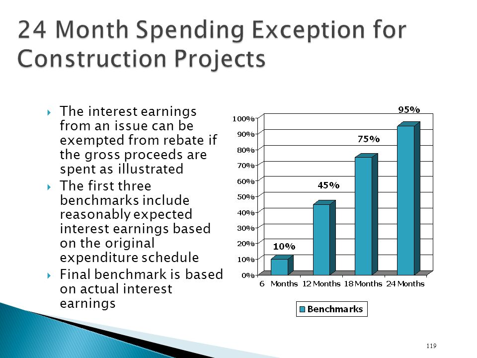 24 Month Spending Exception for Construction Projects