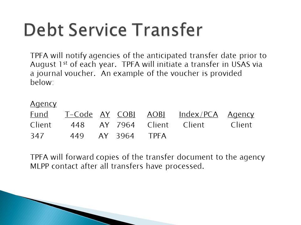 Debt Service Transfer