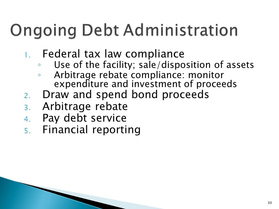 Ongoing Debt Administration