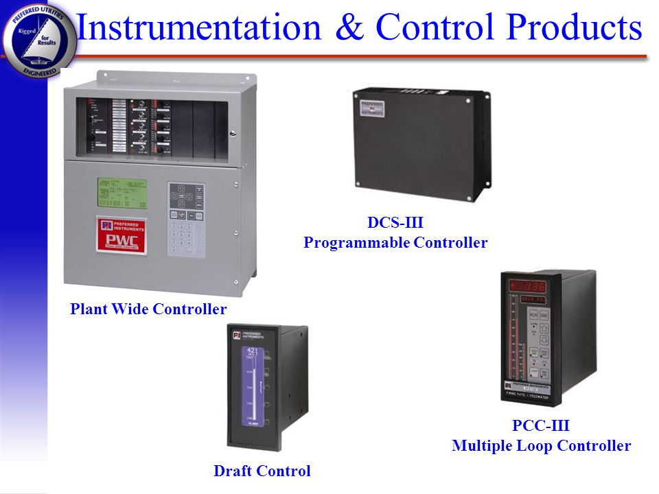 Instrumentation & Control Products