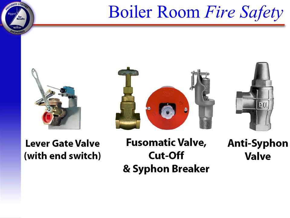 Boiler Room Fire Safety