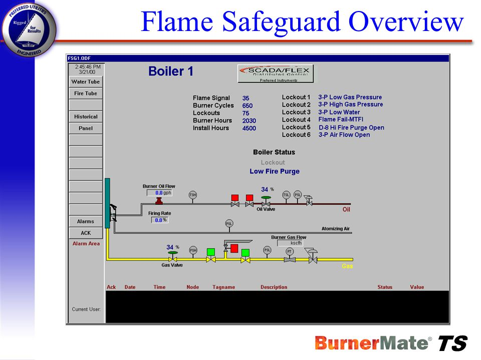 Flame Safeguard Overview