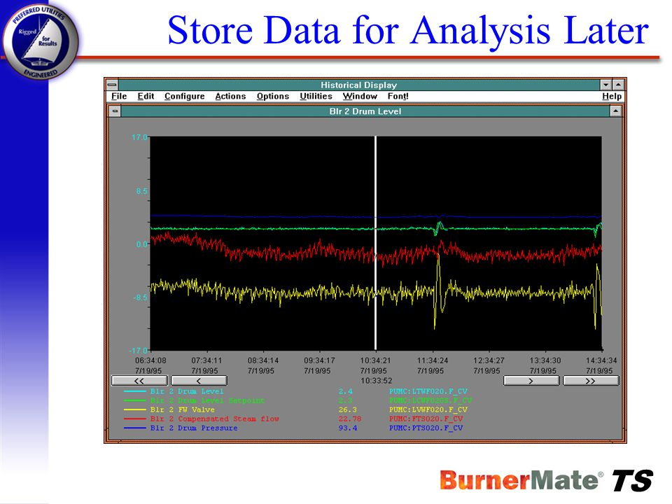 Store Data for Analysis Later