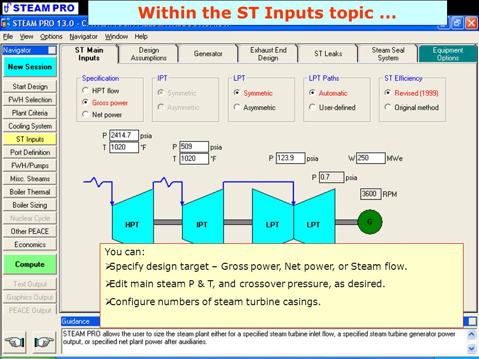 Within the ST Inputs topic ...