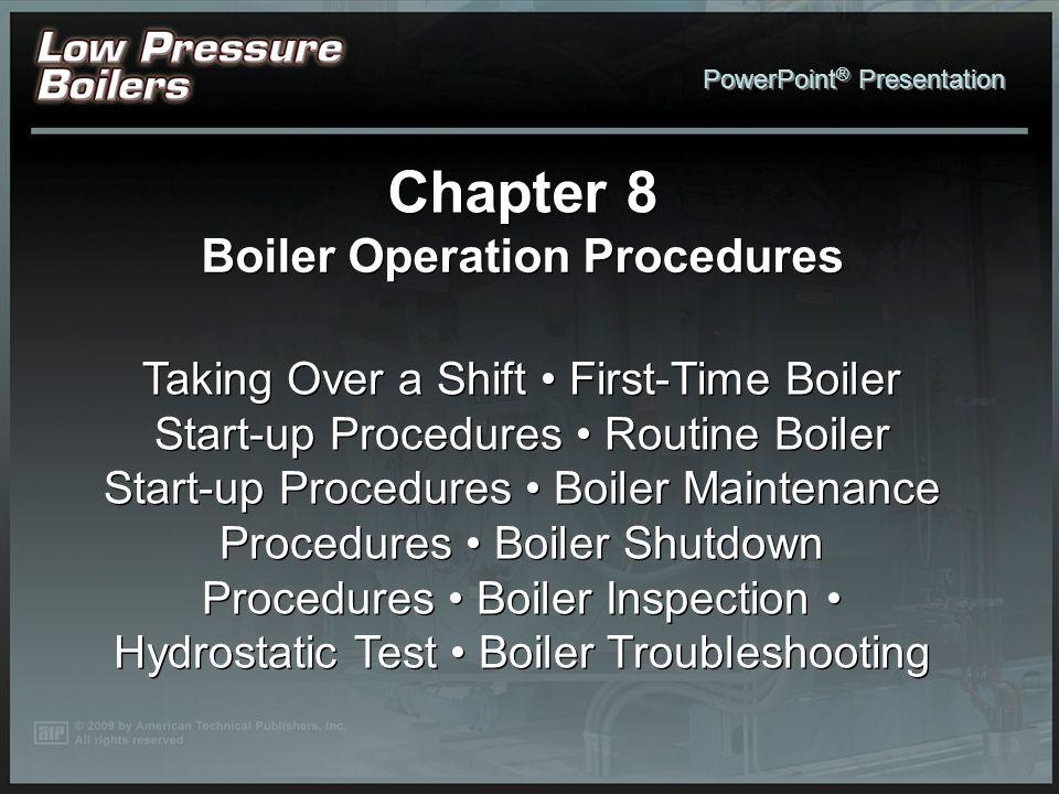 Boiler Operation Procedures