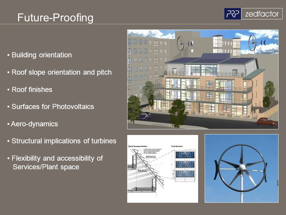Future-Proofing Building orientation Roof slope orientation and pitch