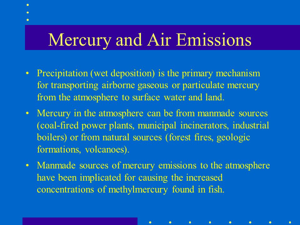 Mercury and Air Emissions