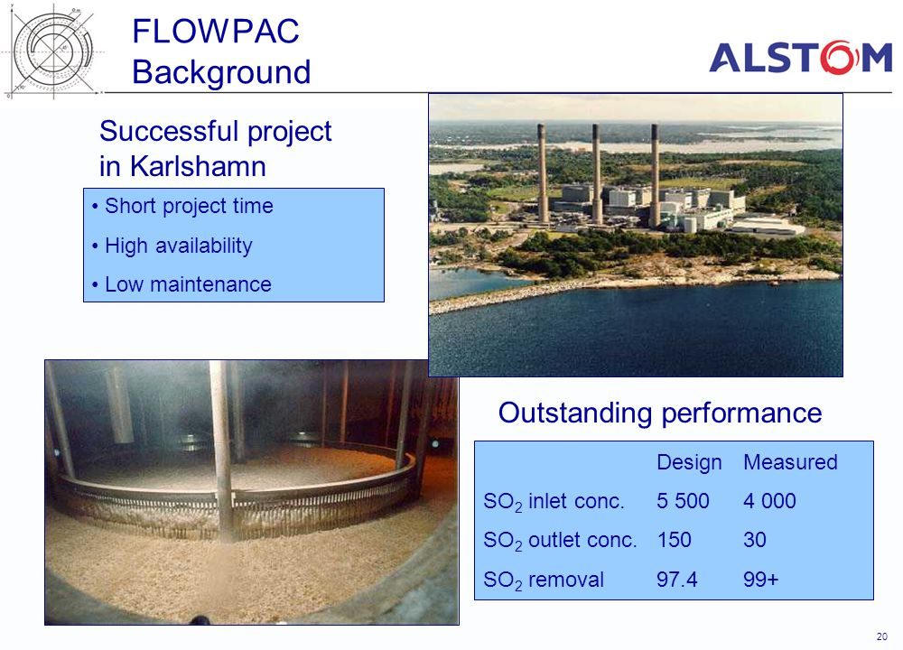 FLOWPAC Background Successful project in Karlshamn