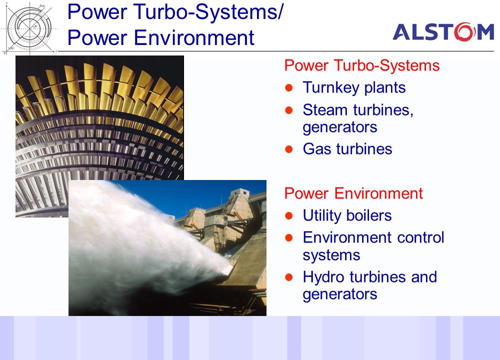 Power Turbo-Systems/ Power Environment Power Turbo-Systems