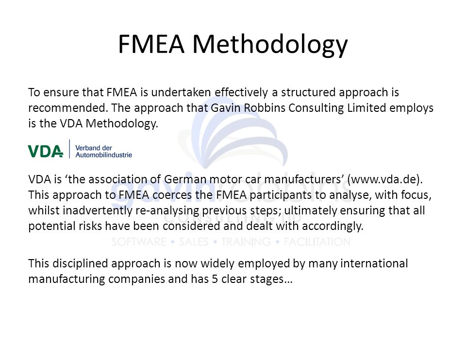 FMEA Methodology