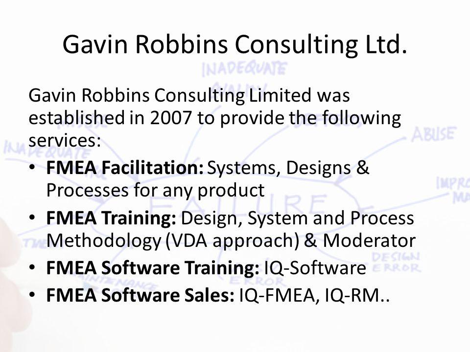 Gavin Robbins Consulting Ltd.