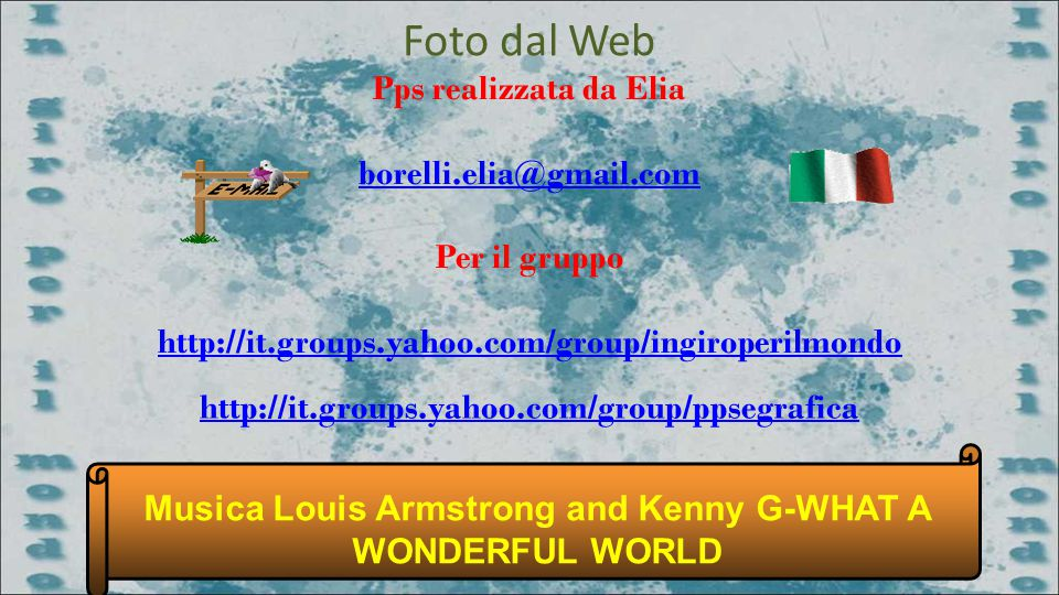 Musica Louis Armstrong and Kenny G-WHAT A WONDERFUL WORLD