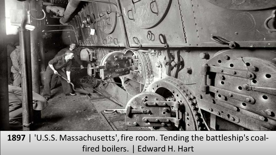 1897 | U. S. S. Massachusetts , fire room