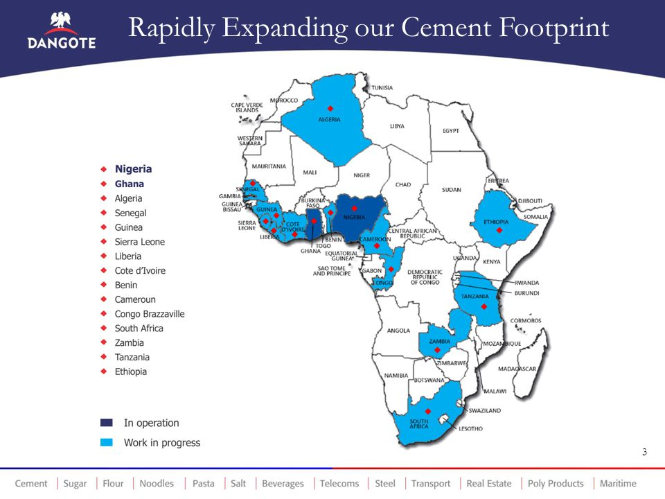 Rapidly Expanding our Cement Footprint
