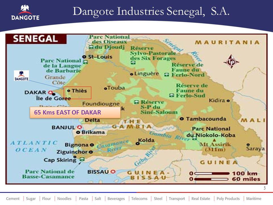 Dangote Industries Senegal, S.A.