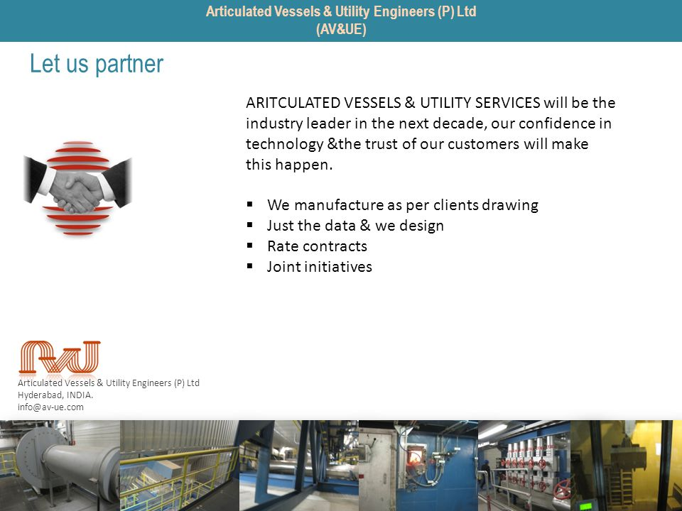 Articulated Vessels & Utility Engineers (P) Ltd