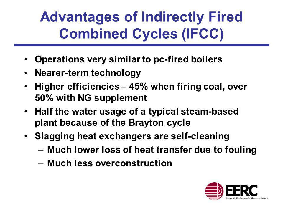 Advantages of Indirectly Fired Combined Cycles (IFCC)