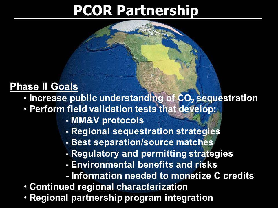 PCOR Partnership Phase II Goals
