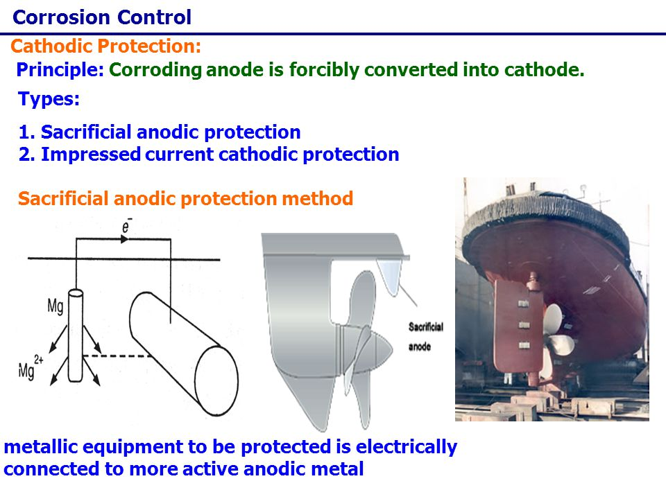 Corrosion Control Cathodic Protection: