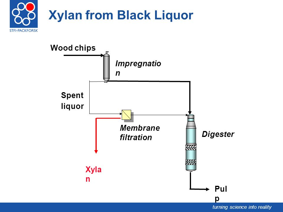 Xylan from Black Liquor