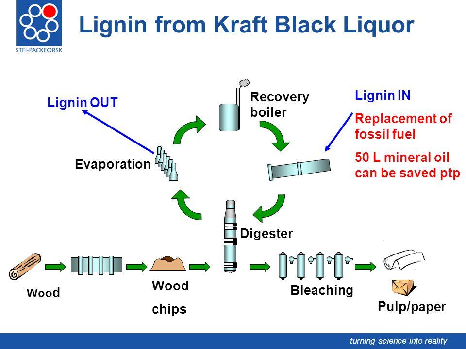 Lignin from Kraft Black Liquor