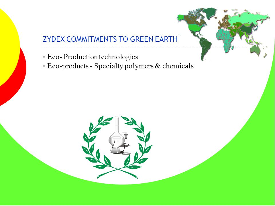 ZYDEX COMMITMENTS TO GREEN EARTH