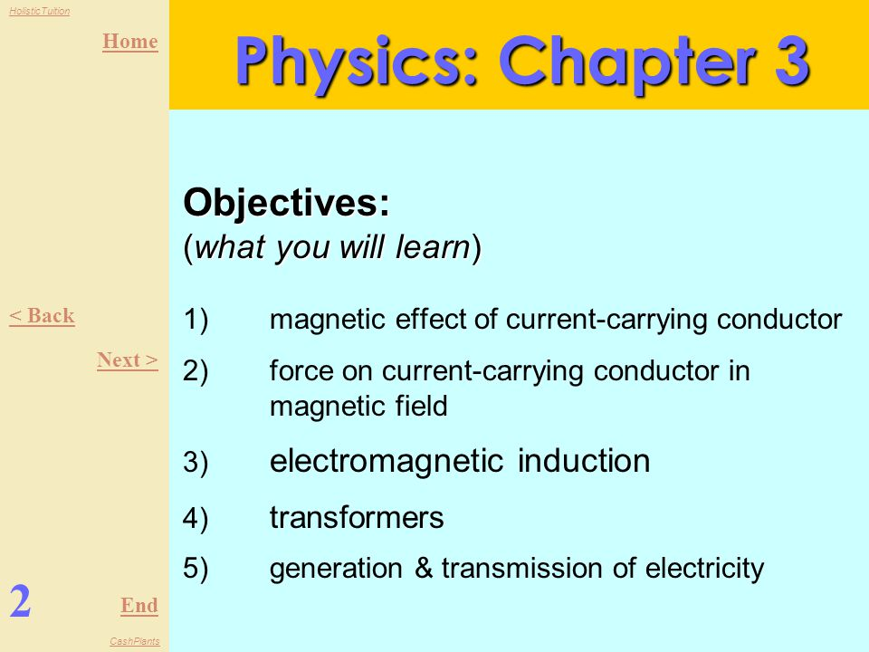 Physics: Chapter 3