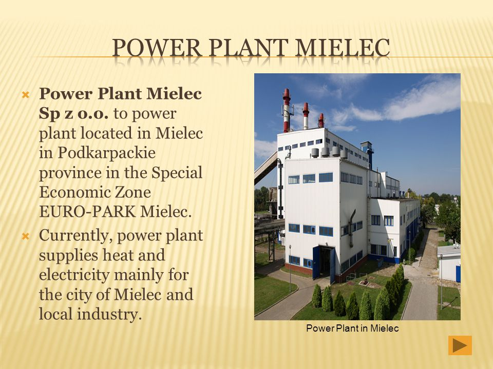 Power Plant Mielec