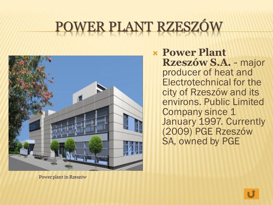 Power Plant Rzeszów
