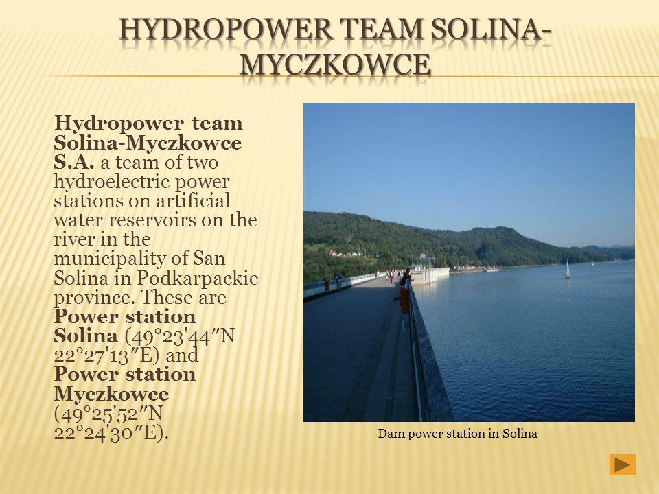 Hydropower Team Solina-Myczkowce
