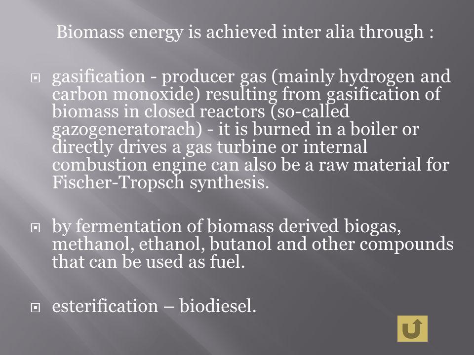 esterification – biodiesel.