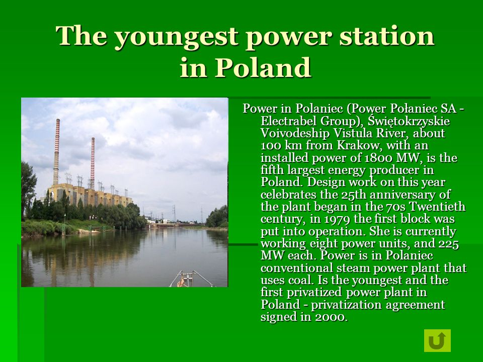 The youngest power station in Poland
