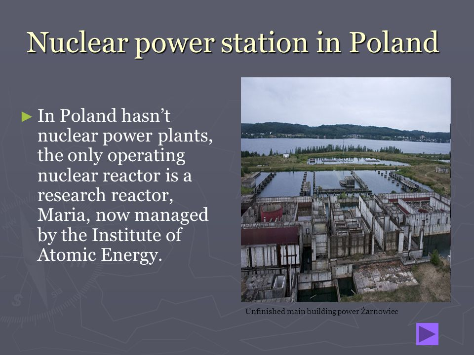 Nuclear power station in Poland