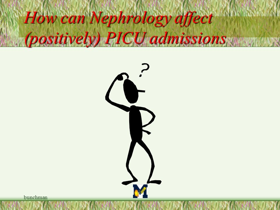 How can Nephrology affect (positively) PICU admissions