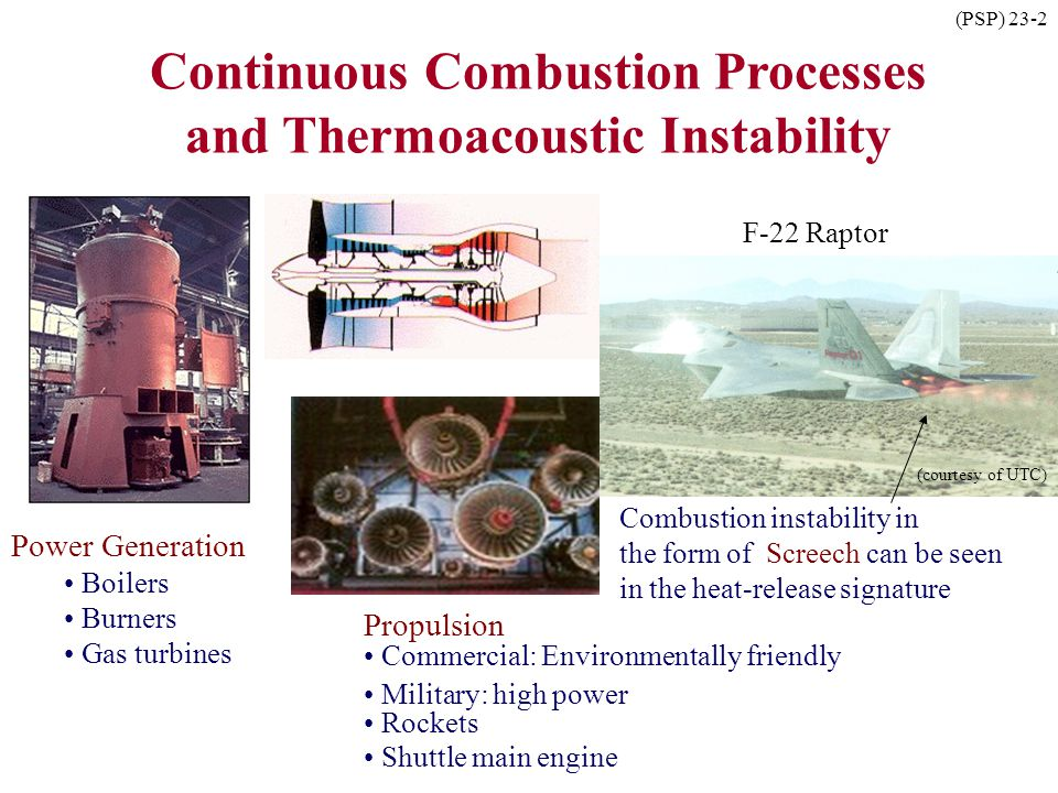 Continuous Combustion Processes and Thermoacoustic Instability
