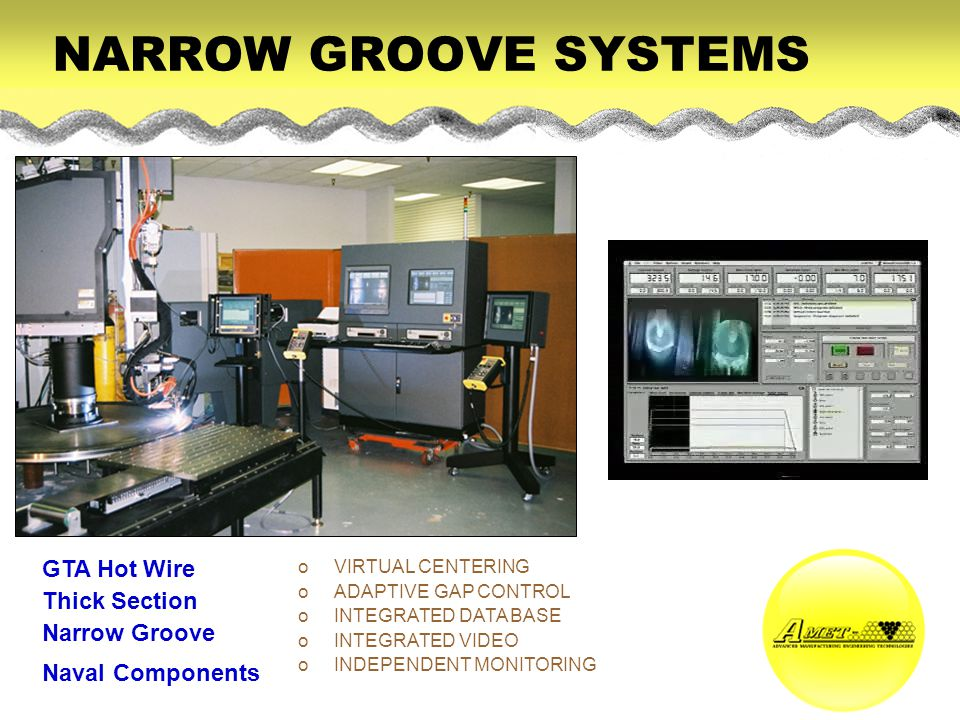 NARROW GROOVE SYSTEMS GTA Hot Wire Thick Section Narrow Groove