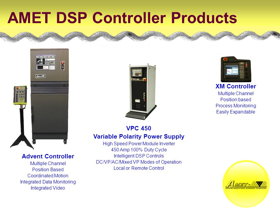 AMET DSP Controller Products