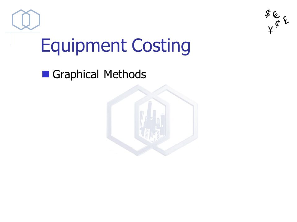 Equipment Costing Graphical Methods