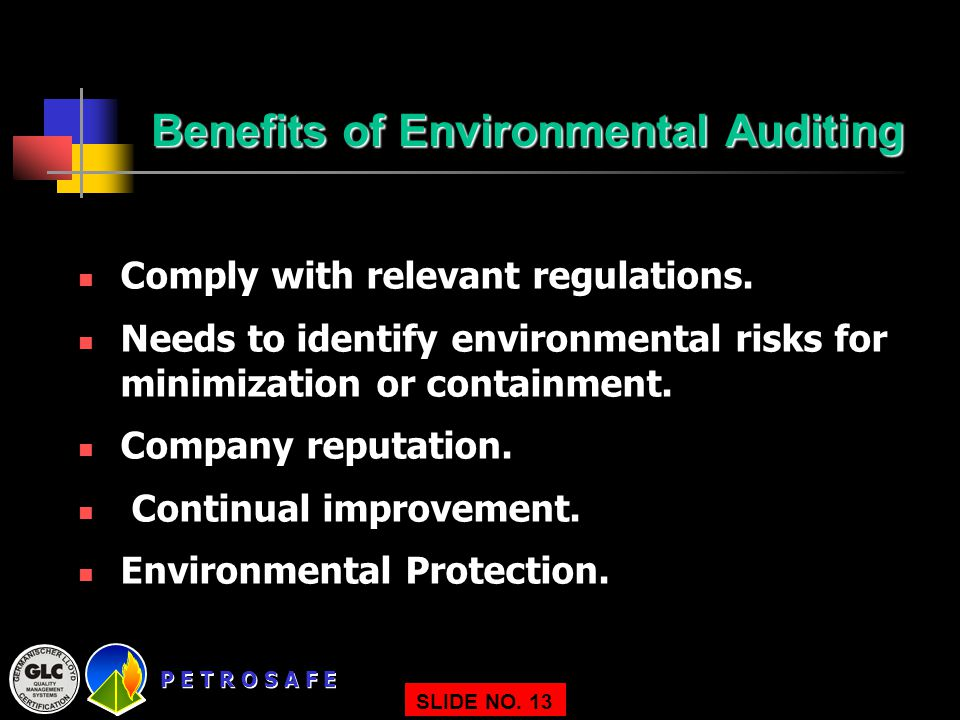Benefits of Environmental Auditing